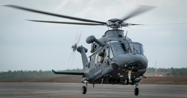 The Air Force has started testing its UH-1 Huey replacement