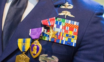 Special tactics airmen receive valor awards for daring Middle East raids, one of which took out top Al Qaeda leader