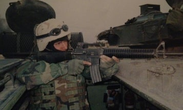 A Marine looks back at the invasion of Iraq, 18 years later: 'The war can't go on unless all the poop's burned'