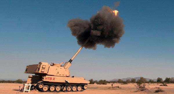 Meet the M1299, the new Army howitzer with twice the range of the Paladin