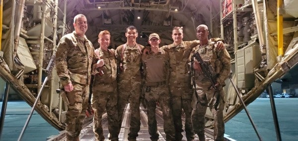 C-130 aircrew receives Combat Action Medal for dodging RPG over Afghanistan