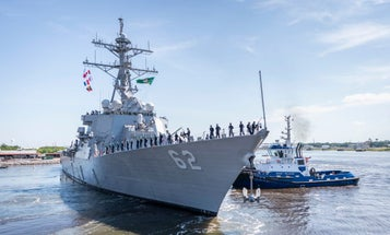 Three years after fatal collision, the USS Fitzgerald rejoins the fleet