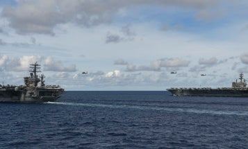 US Navy aircraft carriers return to South China Sea amid rising tensions