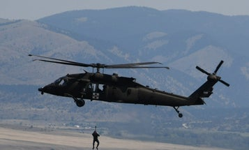 Montana National Guard aircrew rescues hikers at 9,300 feet