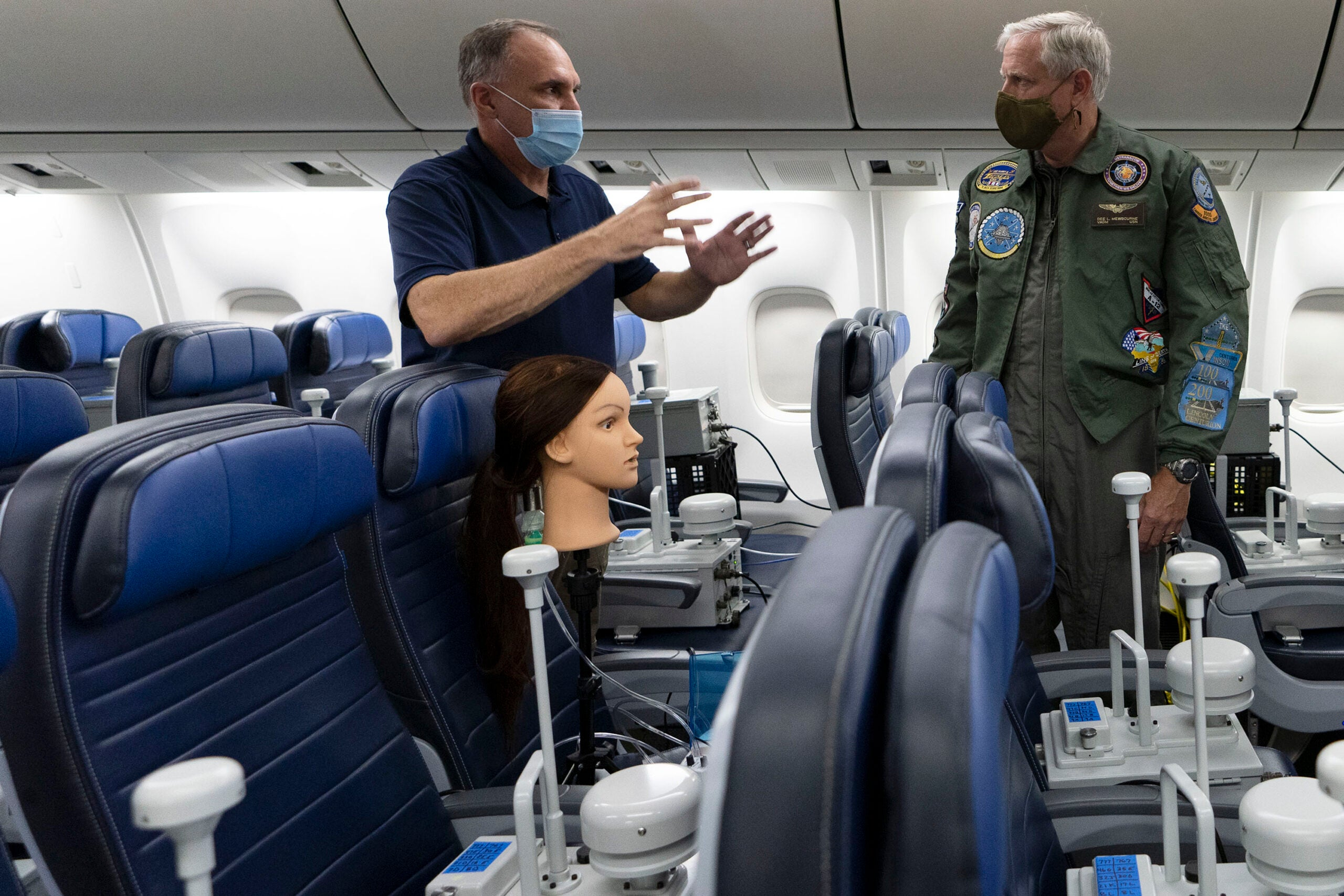 Military researchers say flying during the COVID-19 pandemic isn't as terrifying as you think