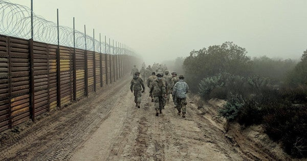 16 Marines arrested after being tied to smuggling of undocumented immigrants from Mexico
