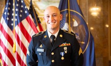 Utah National Guard member honored for saving lives during 2017 Las Vegas mass shooting
