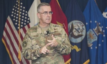 Nomination of Joint Chiefs vice chairman back on track despite sexual assault allegations