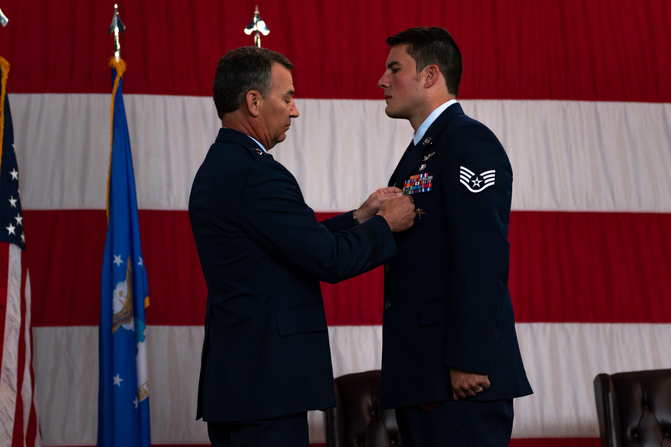 Air Force pararescueman awarded Silver Star for risking his life to save his teammates during Afghanistan firefight