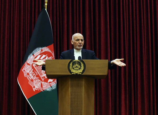 Afghan President rejects the release of 5,000 Taliban prisoners under new peace deal