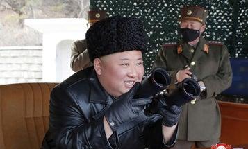 North Korea test-fires three short-range missiles into the sea
