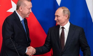 Russia and Turkey agree to ceasefire deal for Syria's Idlib
