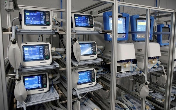 Militaries across the globe join the production line as ventilator makers scramble to meet demand