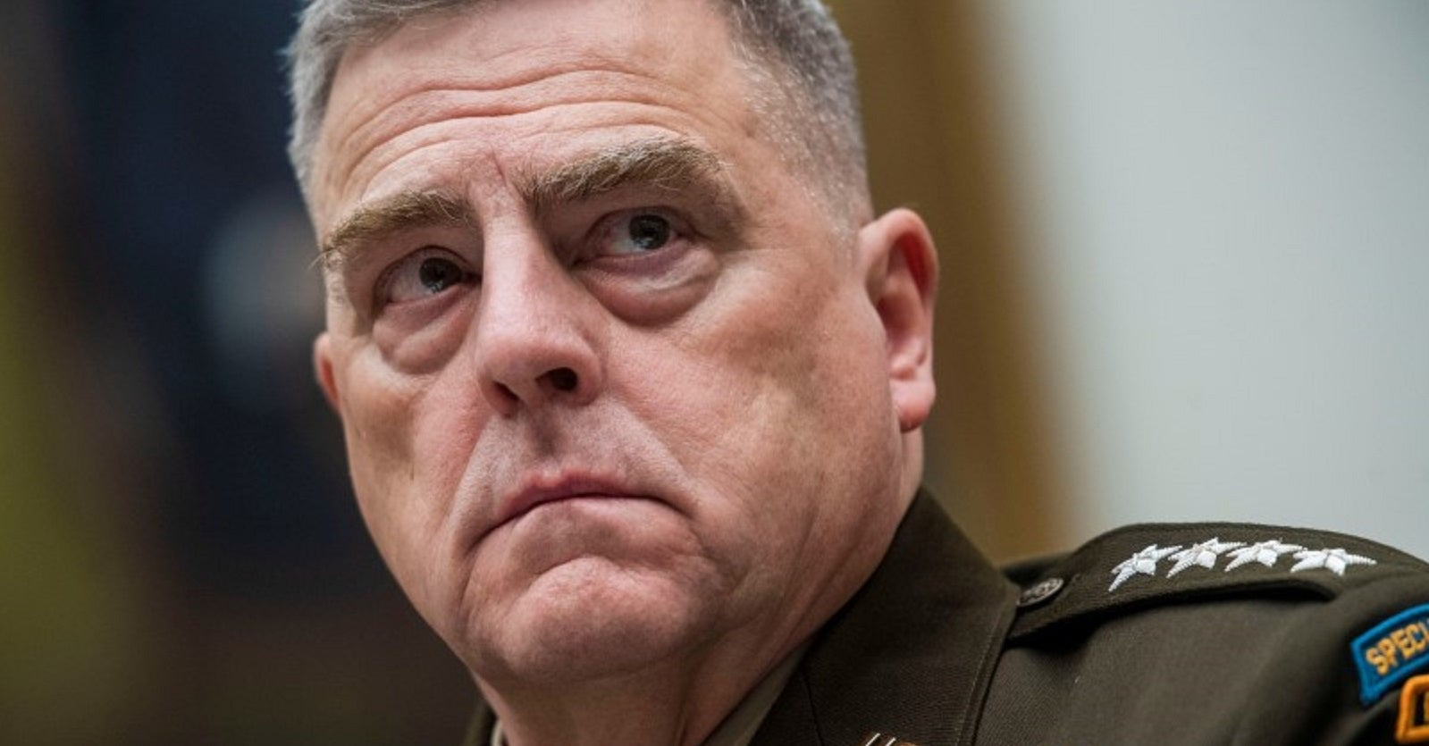 Top general appears to be at odds with the White House over the Afghanistan withdrawal plan