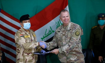 US troops depart Iraqi base near Mosul in nationwide drawdown