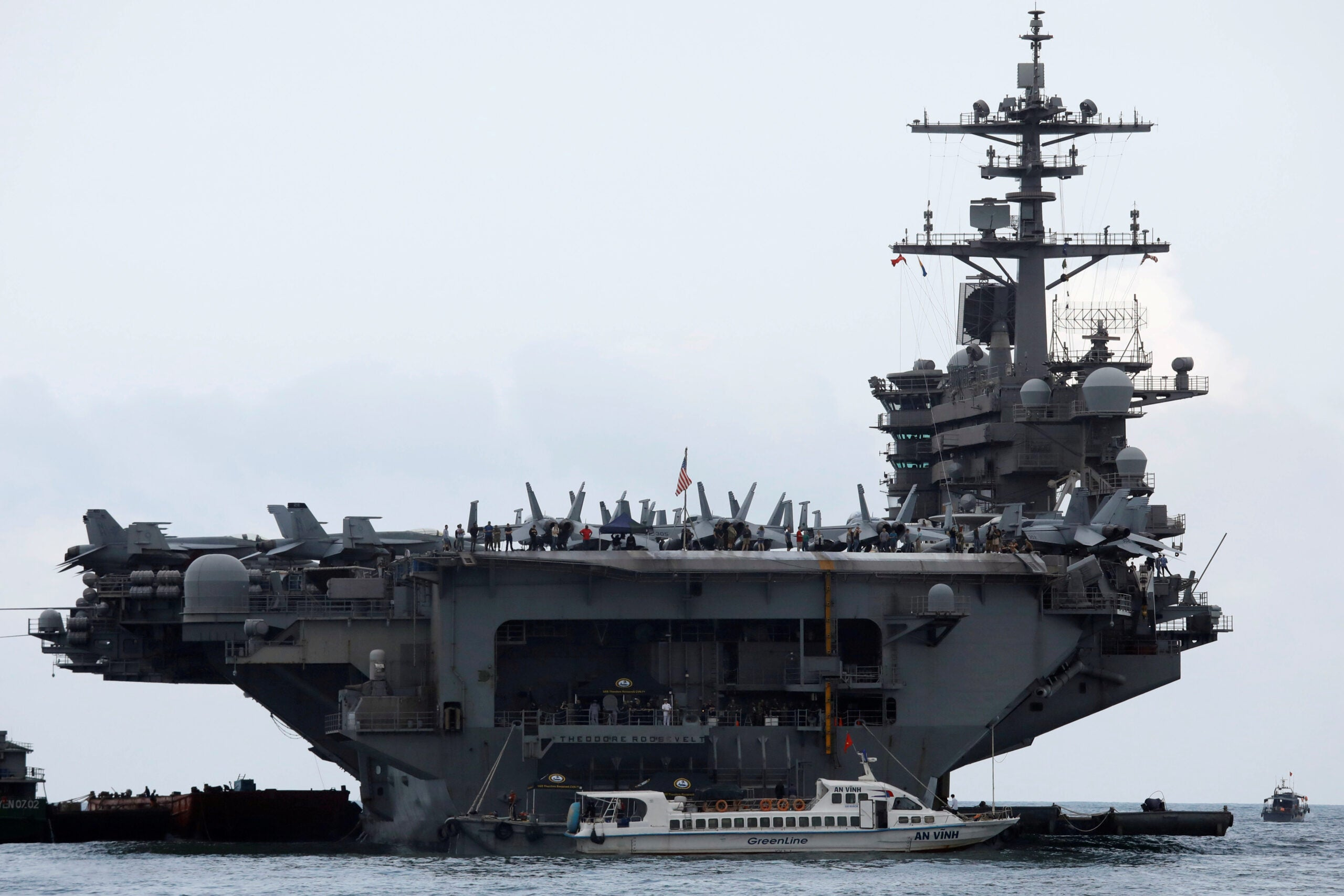 A USS Theodore Roosevelt sailor has died of COVID-19
