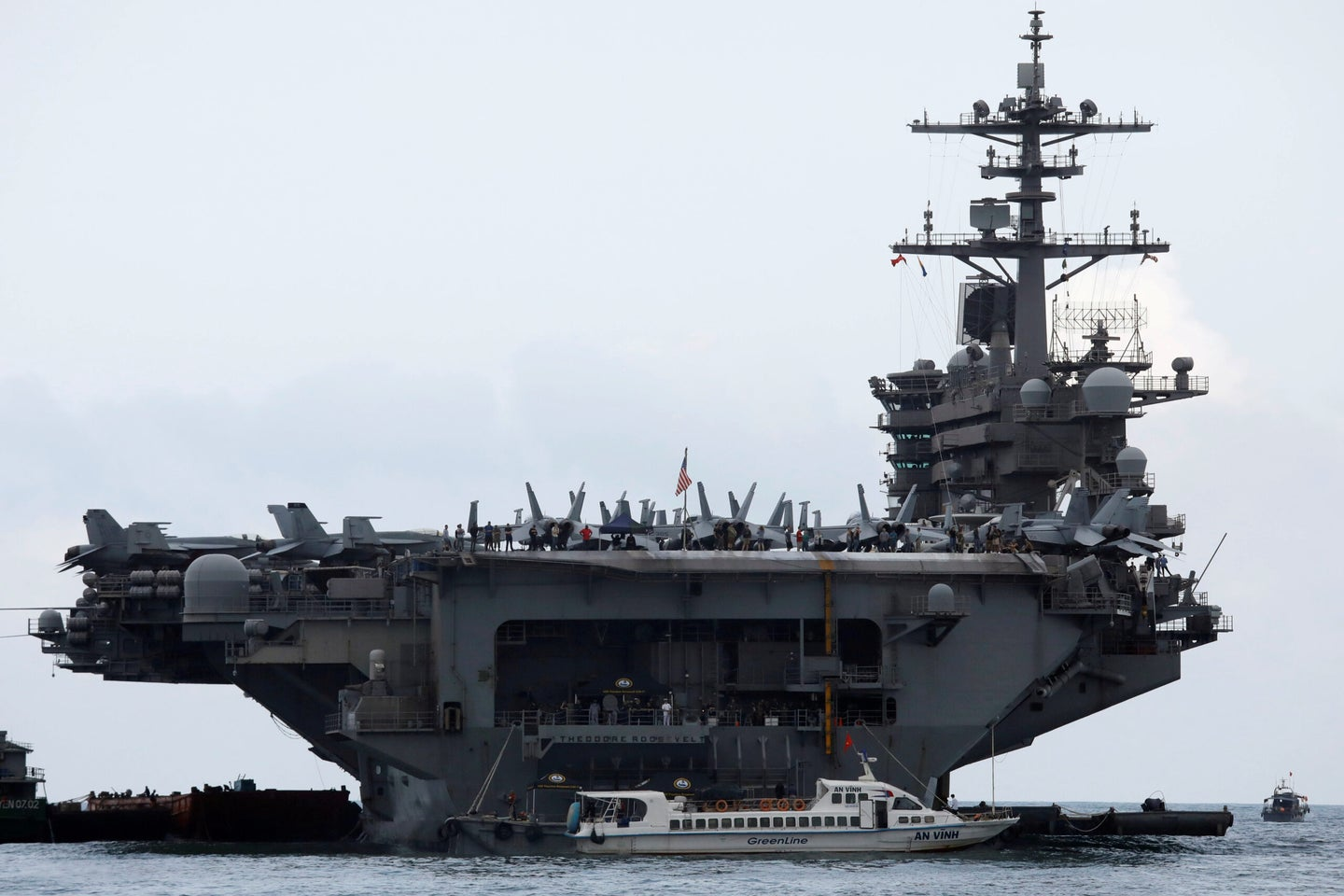 5 sailors test positive for COVID-19 after returning to the USS Theodore Roosevelt from isolation