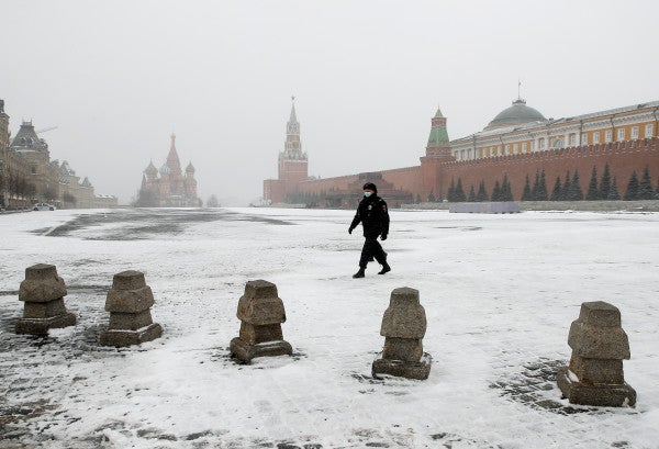 Russia quarantines thousands of troops after calling off Red Square parade