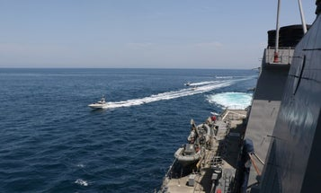 Eying Iran, US issues warning to stay 100 yards away from its warships