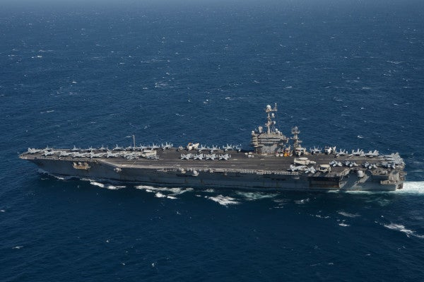 What it's like on the USS Harry S. Truman — a 'clean' Navy aircraft carrier too valuable to be allowed home