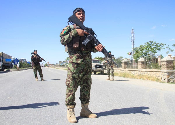 Taliban blast near Afghan intelligence base kills seven, injures 40