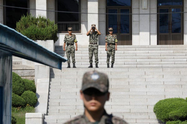 North Korea threatens to enter DMZ and 'turn the front line into a fortress'