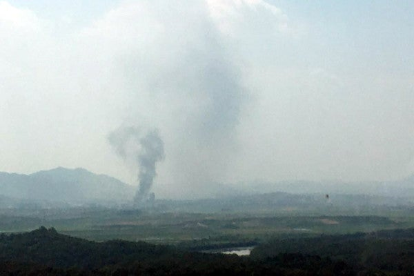 North Korea blows up liaison office with South Korea amid escalating tensions