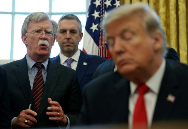 John Bolton: Trump asked China to help him win in 2020 and offered 'favors to dictators'