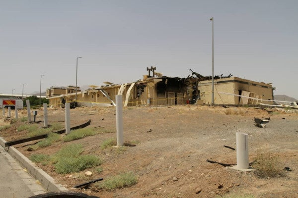 Iran confirms explosion at Natanz nuclear facility was 'sabotage'