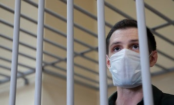 Russia sentences US Marine to 9 years after 'theater of the absurd' trial in Moscow