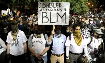ACLU sues Trump administration alleging illegal arrests of veterans and other protesters in Portland