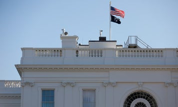 Removal of POW/MIA flag from White House sparks anger