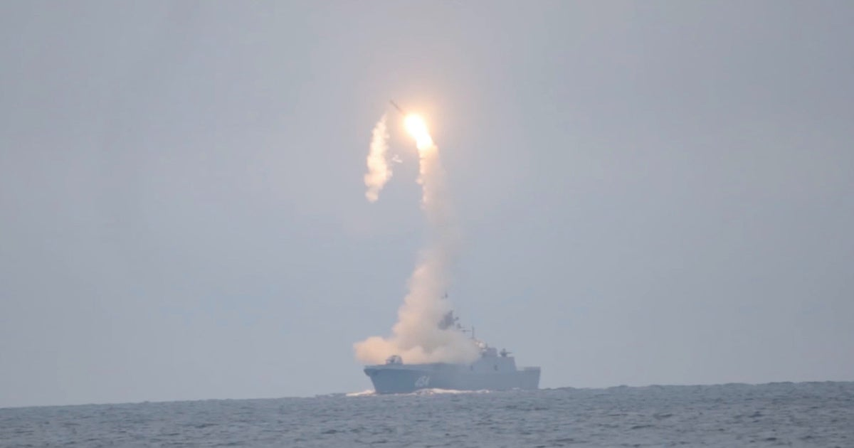 Russia just released footage of its new hypersonic anti-ship missile in action