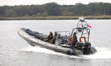 The Polish Navy is defusing the biggest WWII bomb it has ever uncovered