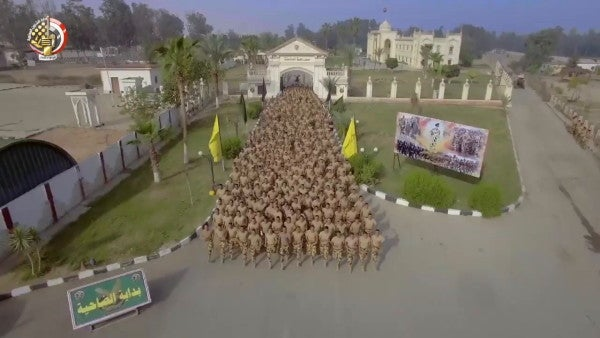 Watch Egyptian soldiers perform bizarre feats of strength in a batsh*t insane sizzle reel