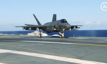The F-35 'is kind of like the iPhone,' according to the Air Force's operational testing wing commander