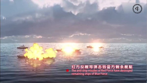 Taiwan is conducting a live-fire exercise with more than 100 missiles right up in the Chinese military's business