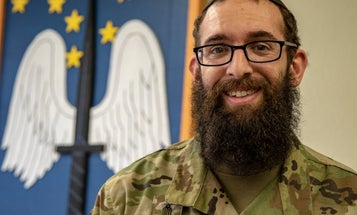 A soldier's wife went to her Army chaplain after a rabbi sent her explicit messages. She says he harassed her instead
