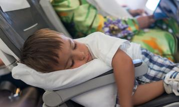 7 airplane travel hacks with kids