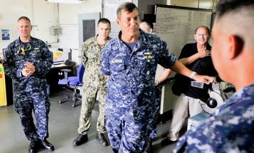 Navy rear admiral removed from job over inappropriate relationship