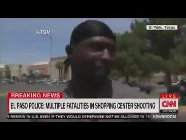 Meet the hero soldier who saved children's lives during the El Paso Walmart shooting