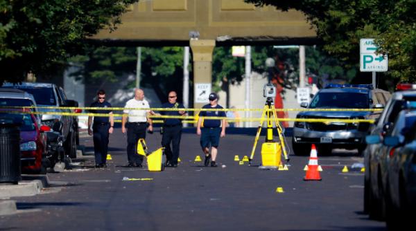 Three Wright-Patterson airmen injured while evacuating Dayton shooting