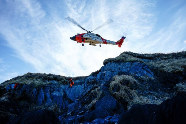 Coast Guardsman killed after falling from a cliff during a hike