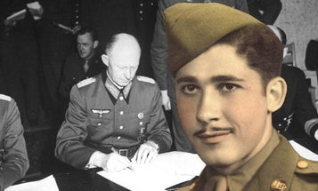 This Army master sergeant is the last living witness to Nazi Germany's surrender