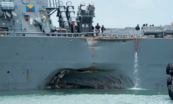 A damning new report lays blame for the USS John S. McCain collision squarely on the Navy