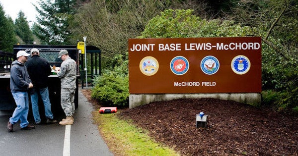 Soldier arrested at Joint Base Lewis-McChord in connection to Oklahoma​ murder investigation