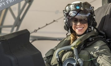 Marine Corps' first female F-35 pilot makes history
