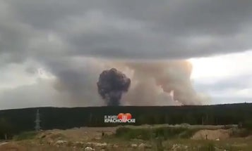 A Russian ammo dump in Siberia was rocked by more explosions just 4 days after a massive blast