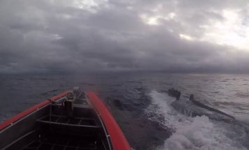 The Coast Guard's newest cutter made a major cocaine bust before it even got to its home port