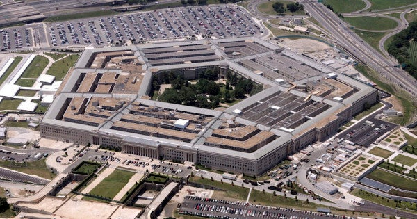 3 things not to bring to the Pentagon: a loaded shotgun, a rusted machete, and Jim Beam Vanilla